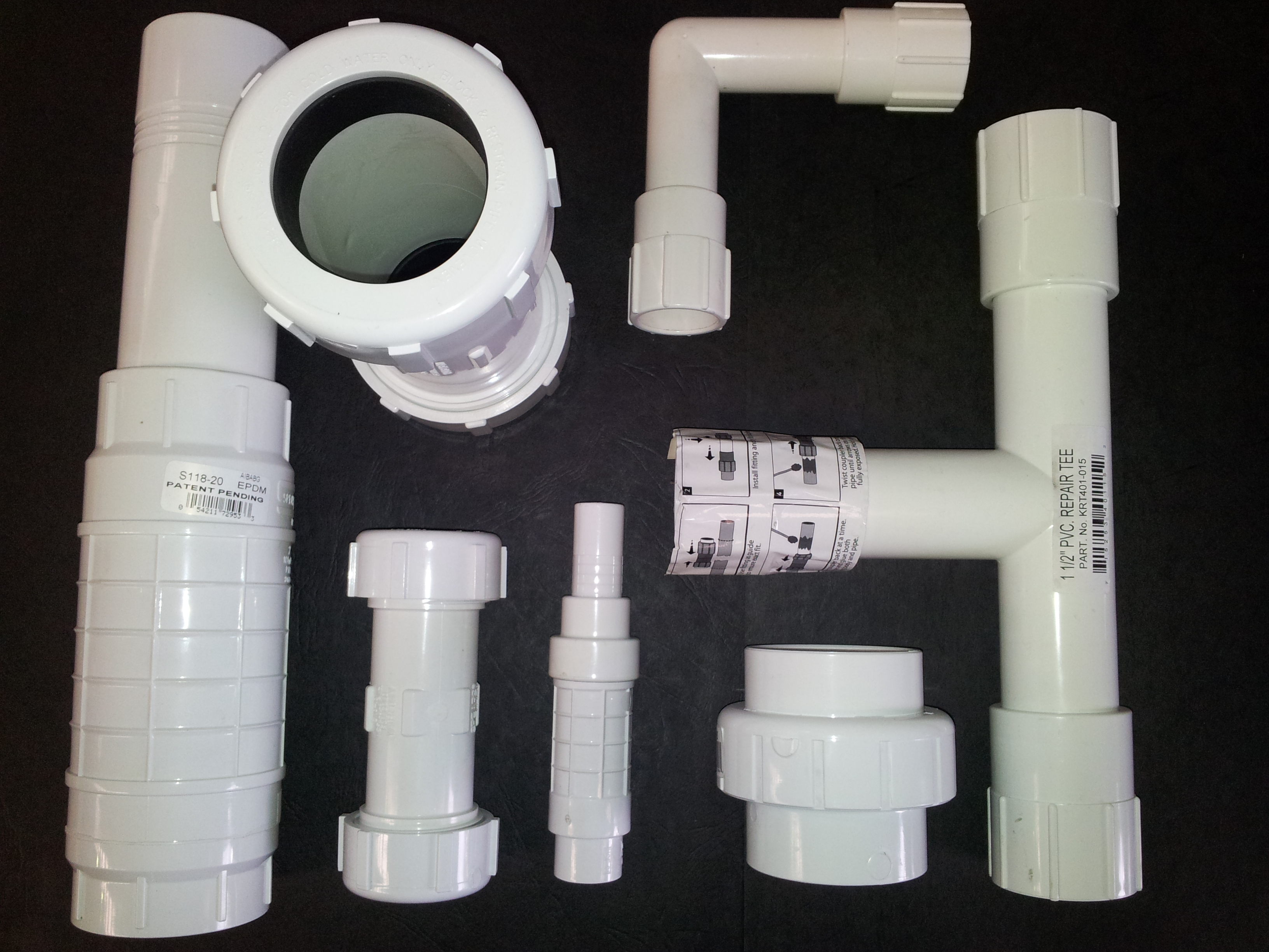 PVC Fittings, Compression, DWV, Stormwater - Peninsula